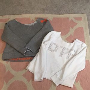 Orangethory Crop Sweatshirt Bundle